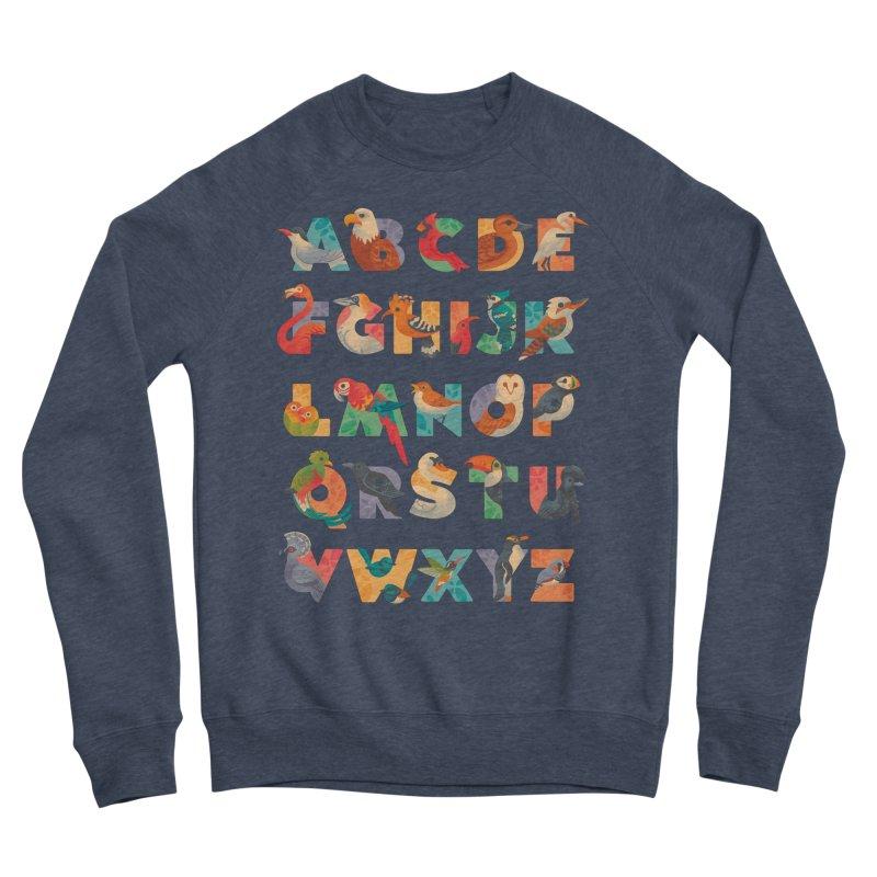 Aerialphabet Men's Sponge Fleece Sweatshirt by Waynem