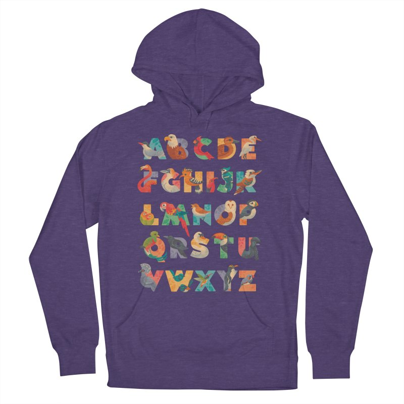 Aerialphabet Women's French Terry Pullover Hoody by Waynem