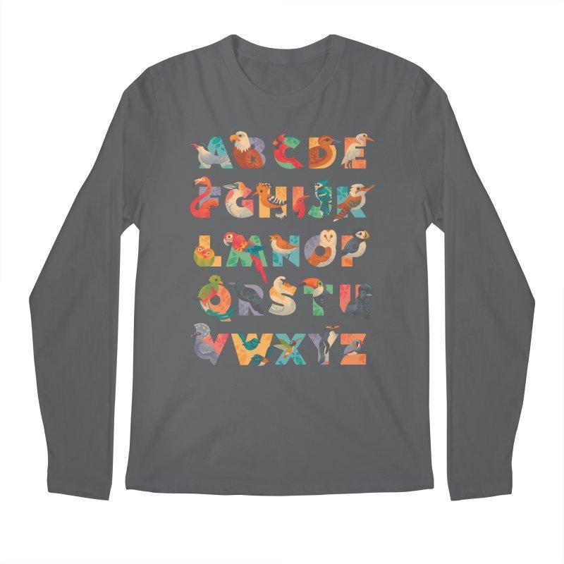 Aerialphabet Men's Regular Longsleeve T-Shirt by Waynem