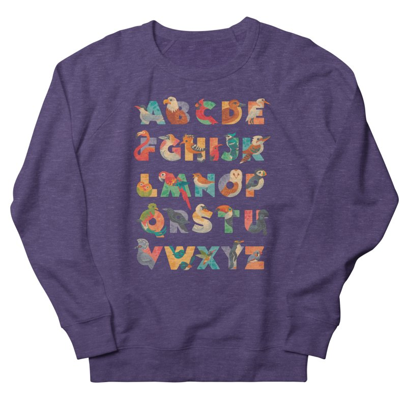 Aerialphabet Women's French Terry Sweatshirt by Waynem