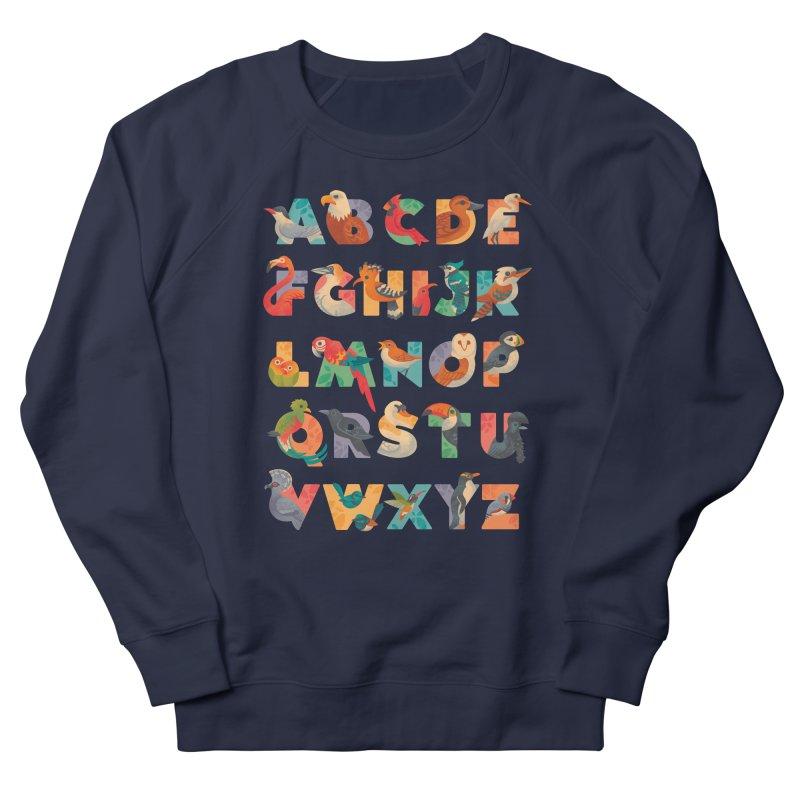 Aerialphabet Men's French Terry Sweatshirt by Waynem