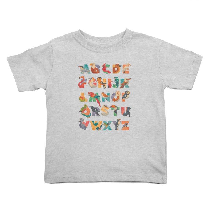 Aerialphabet Kids Toddler T-Shirt by Waynem