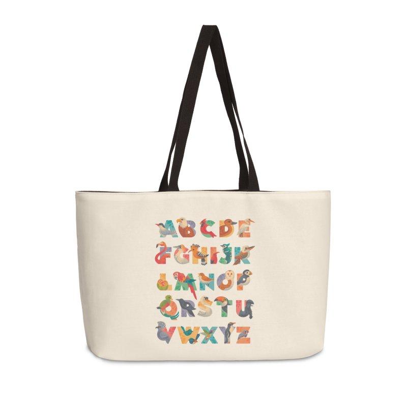 Aerialphabet Accessories Weekender Bag Bag by Waynem