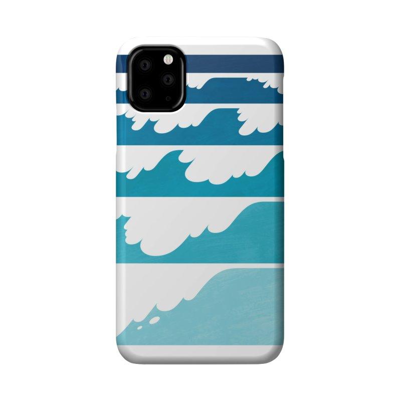 Wave Cascade Accessories Phone Case by Waynem