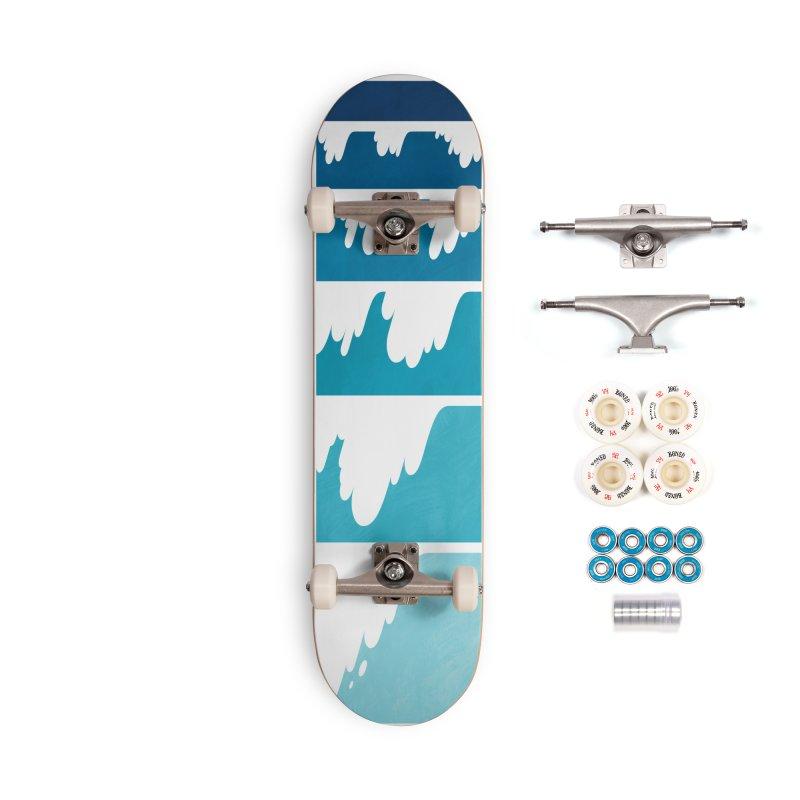 Wave Cascade Accessories Complete - Premium Skateboard by Waynem