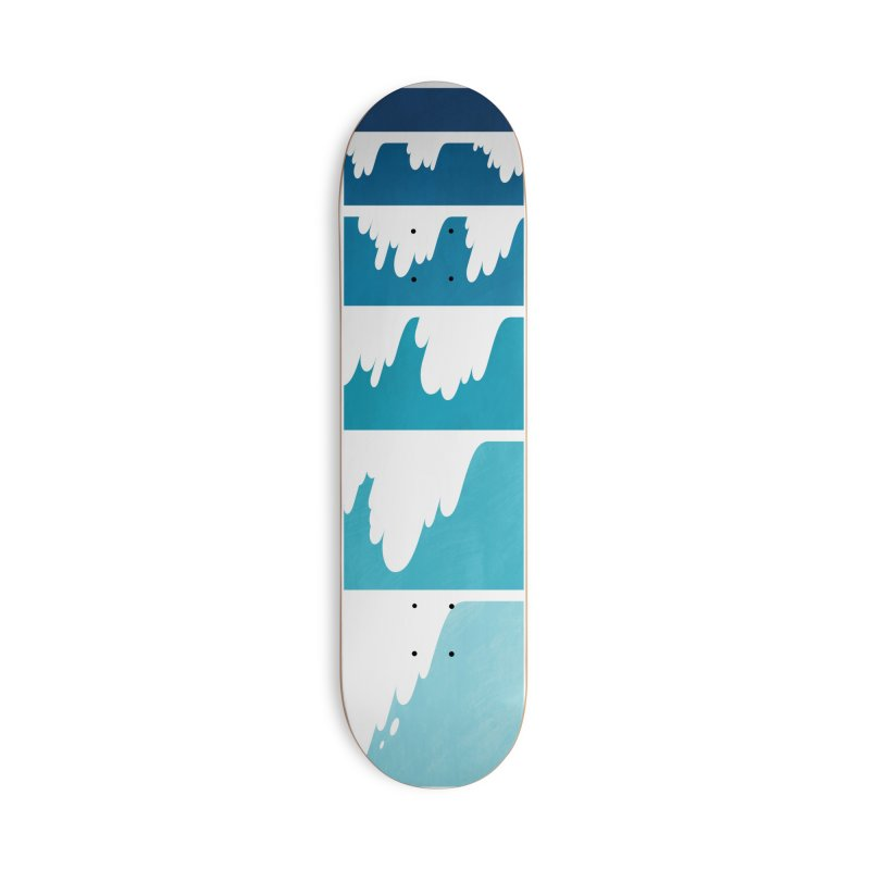 Wave Cascade Accessories Deck Only Skateboard by Waynem