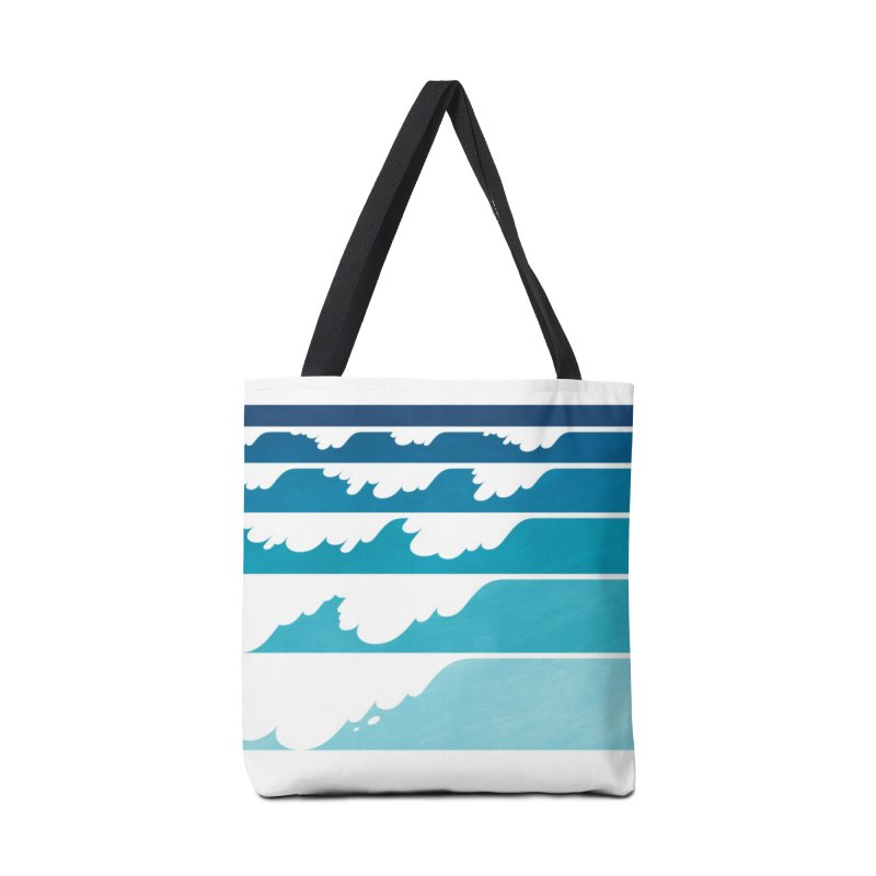 Wave Cascade Accessories Tote Bag Bag by Waynem
