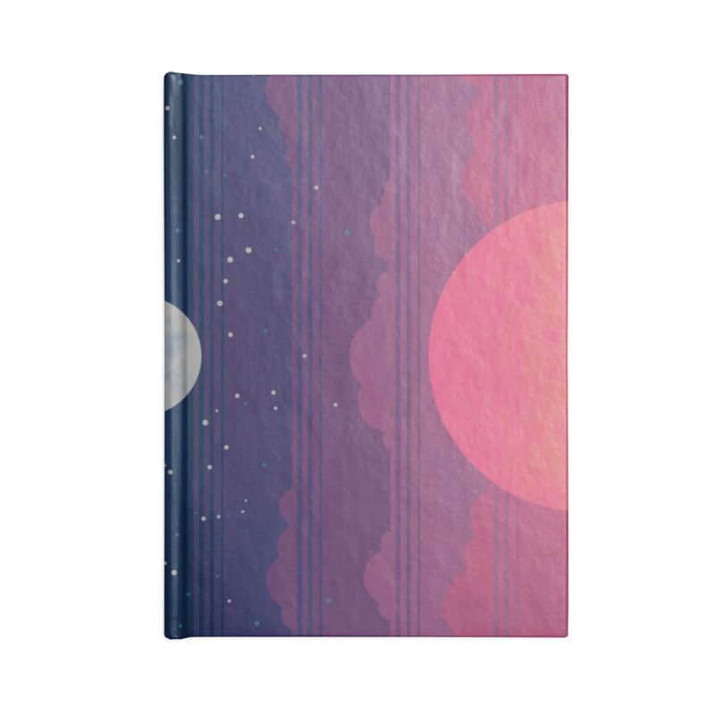 Sunrise to Sunset Accessories Lined Journal Notebook by Waynem