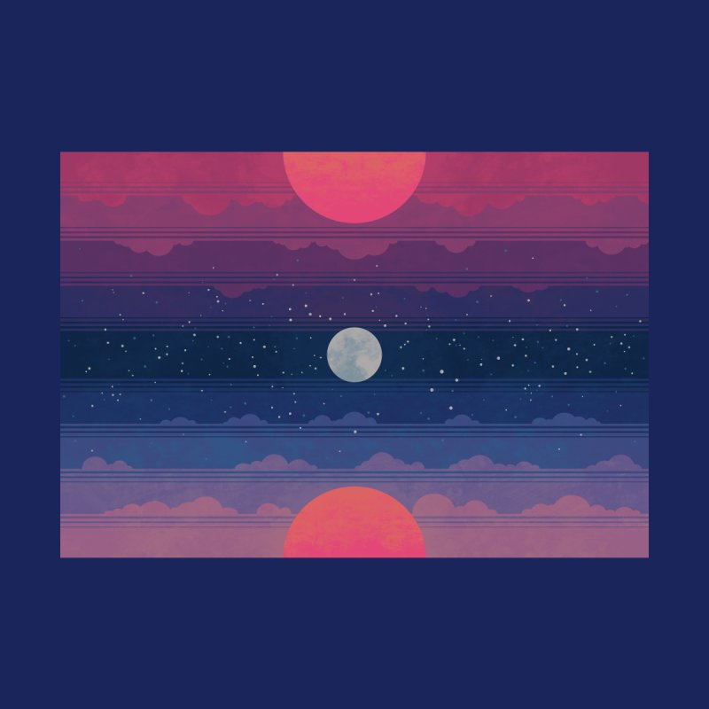 Sunrise to Sunset Men's T-Shirt by Waynem
