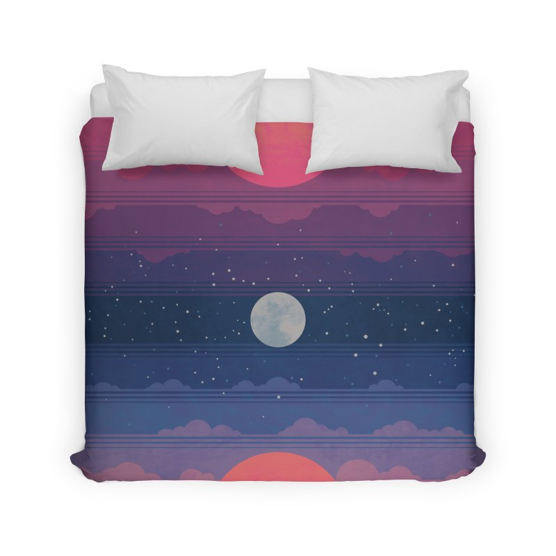 Sunrise to Sunset Home Duvet by Waynem
