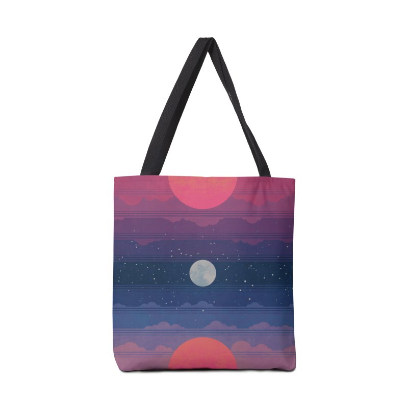 Sunrise to Sunset Accessories Tote Bag Bag by Waynem