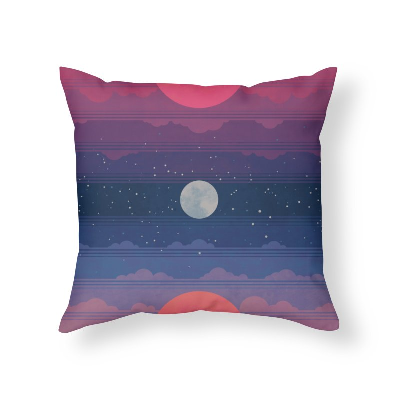 Sunrise to Sunset Home Throw Pillow by Waynem