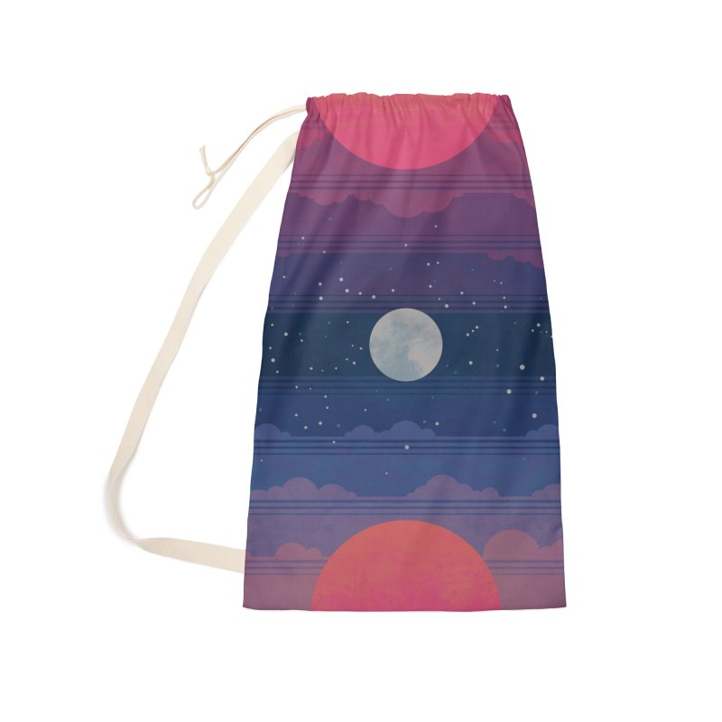 Sunrise to Sunset Accessories Laundry Bag Bag by Waynem
