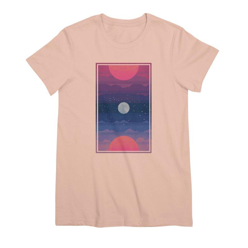 Sunrise to Sunset Women's Premium T-Shirt by Waynem