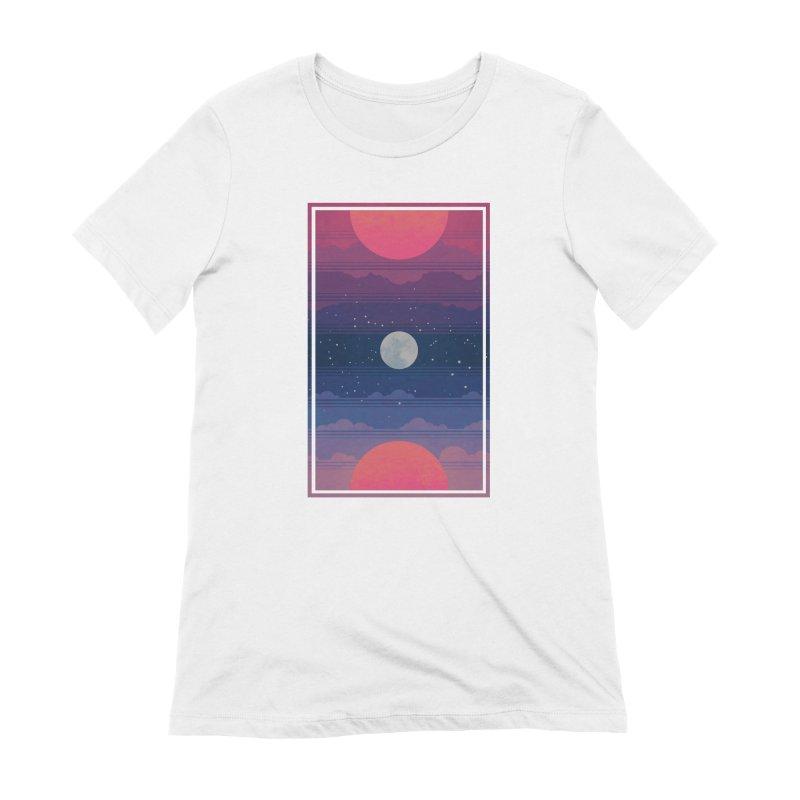 Sunrise to Sunset Women's Extra Soft T-Shirt by Waynem
