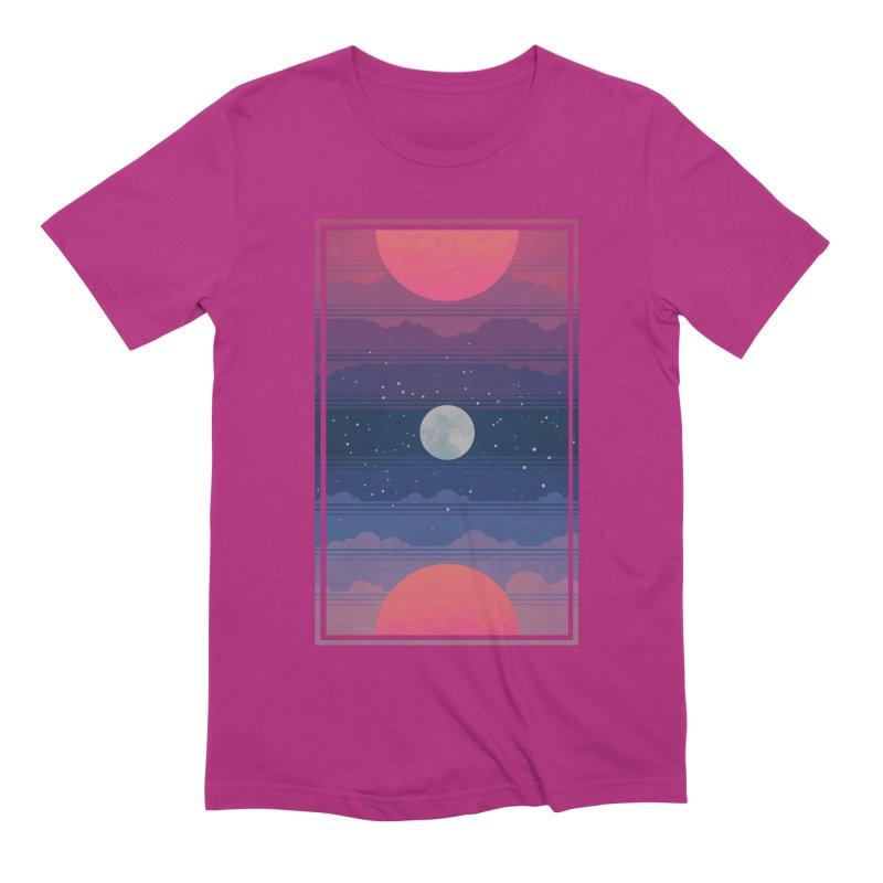 Sunrise to Sunset Men's Extra Soft T-Shirt by Waynem