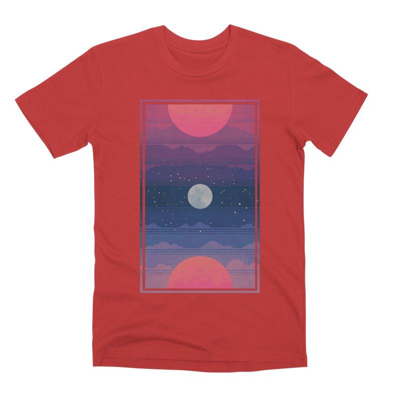 Sunrise to Sunset Men's Premium T-Shirt by Waynem