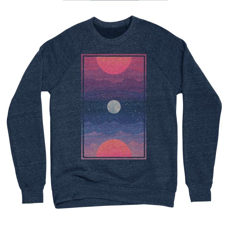 Sunrise to Sunset Women's Sponge Fleece Sweatshirt by Waynem
