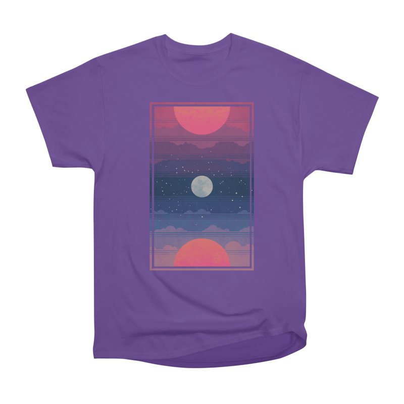 Sunrise to Sunset Women's Heavyweight Unisex T-Shirt by Waynem