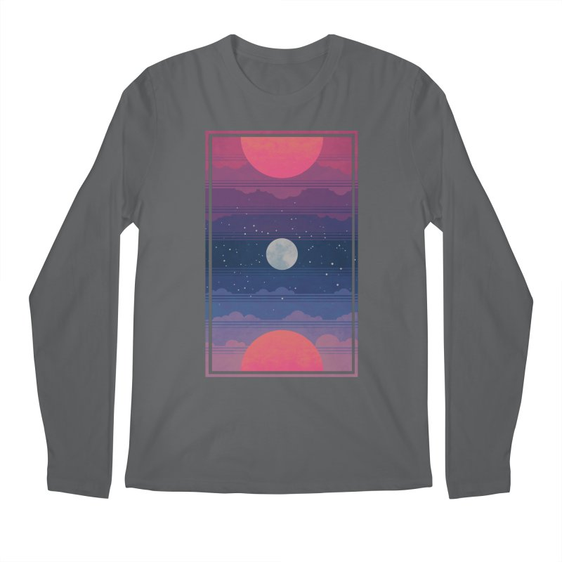 Sunrise to Sunset Men's Regular Longsleeve T-Shirt by Waynem