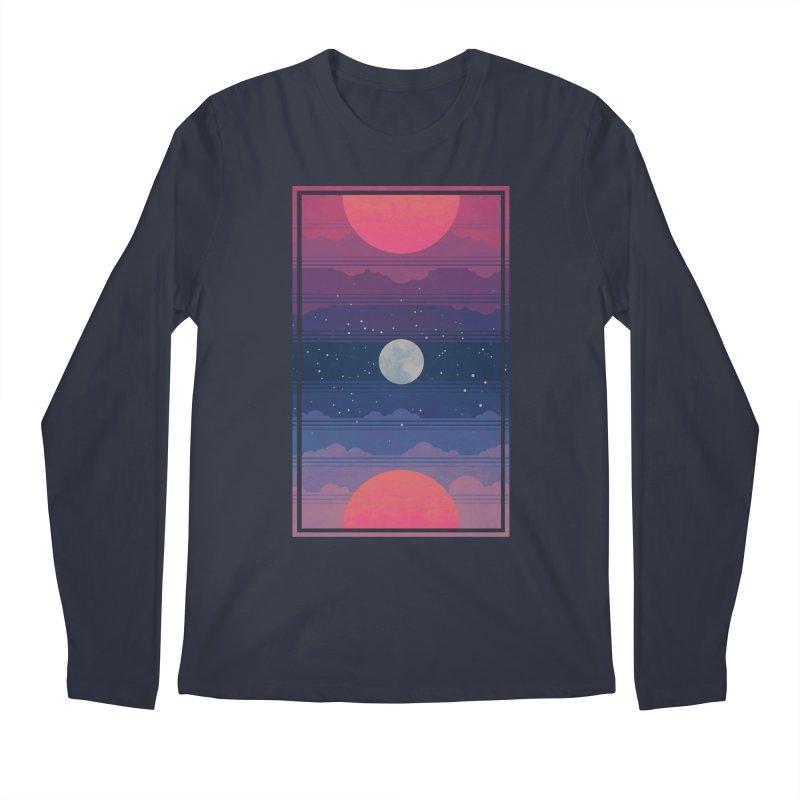 Sunrise to Sunset Men's Regular Longsleeve T-Shirt by Waynem