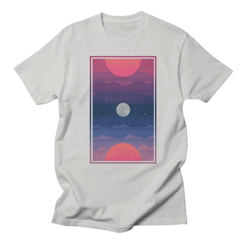 Sunrise to Sunset Men's Regular T-Shirt by Waynem