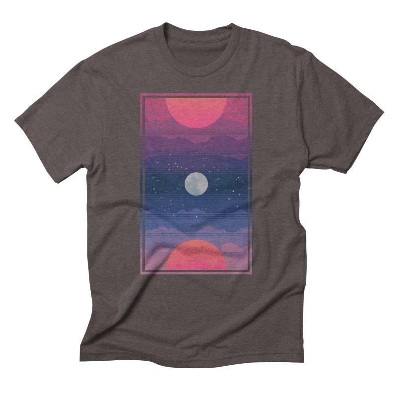 Sunrise to Sunset Men's Triblend T-Shirt by Waynem