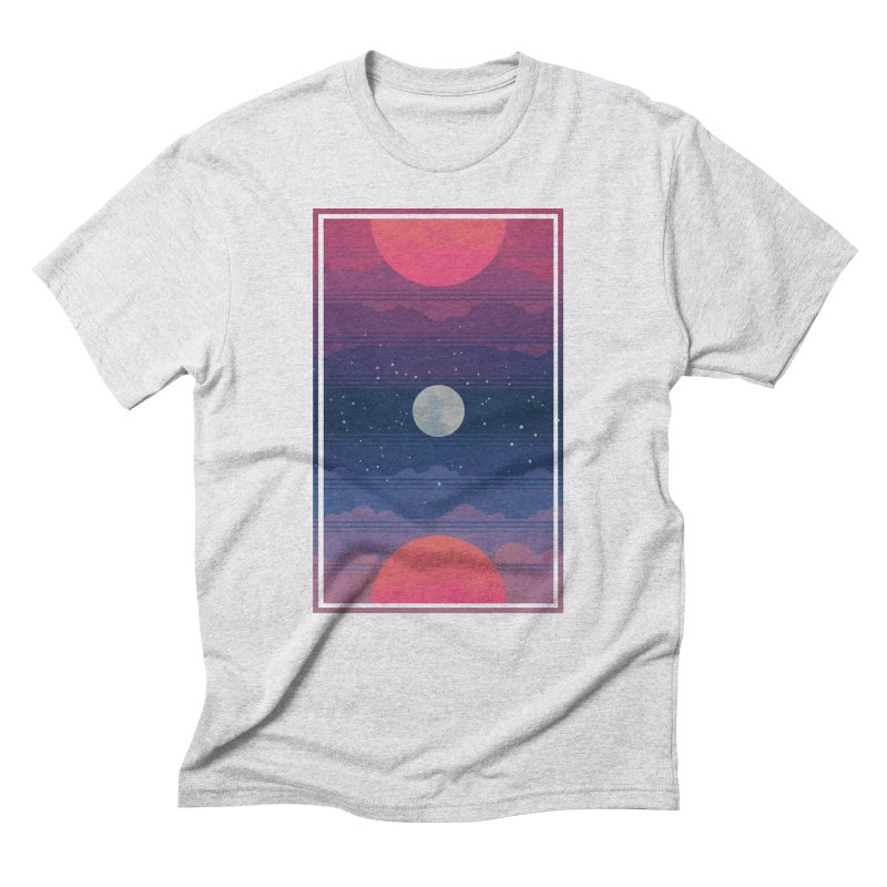 Sunrise to Sunset Men's Triblend T-Shirt by Waynem