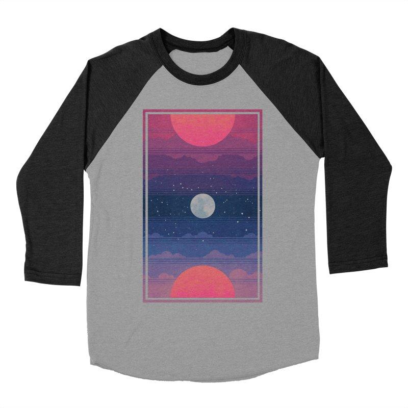 Sunrise to Sunset Men's Baseball Triblend Longsleeve T-Shirt by Waynem