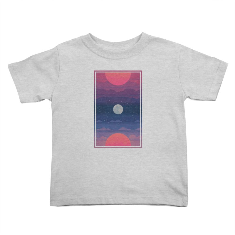Sunrise to Sunset Kids Toddler T-Shirt by Waynem