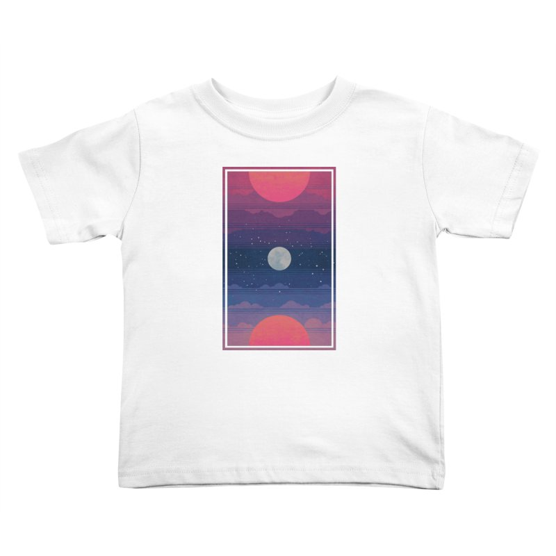 Sunrise to Sunset Kids Toddler T-Shirt by Waynem