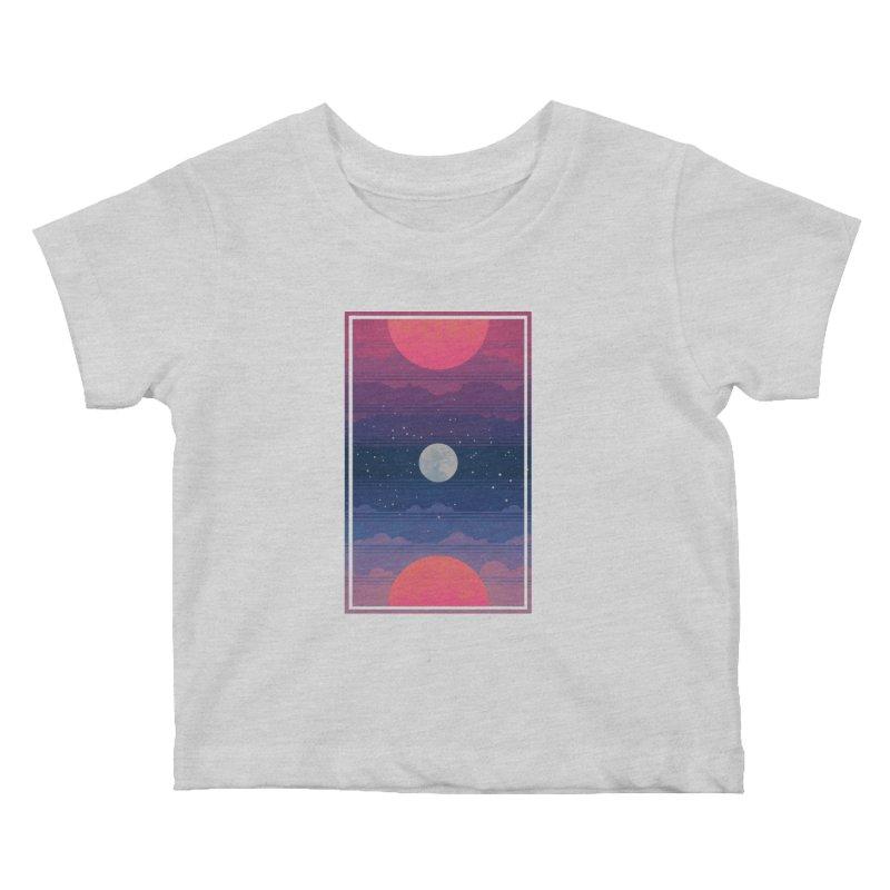 Sunrise to Sunset Kids Baby T-Shirt by Waynem