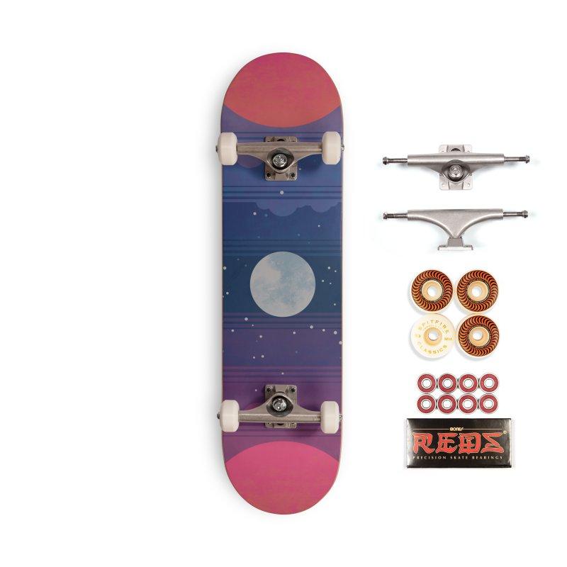 Sunrise to Sunset Accessories Skateboard by Waynem