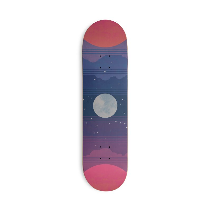 Sunrise to Sunset Accessories Deck Only Skateboard by Waynem