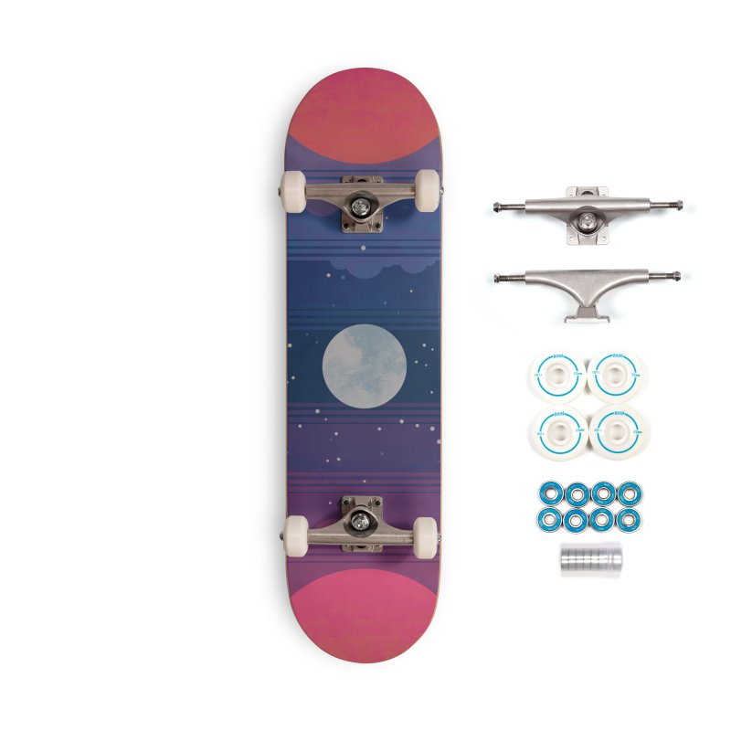 Sunrise to Sunset Accessories Complete - Basic Skateboard by Waynem