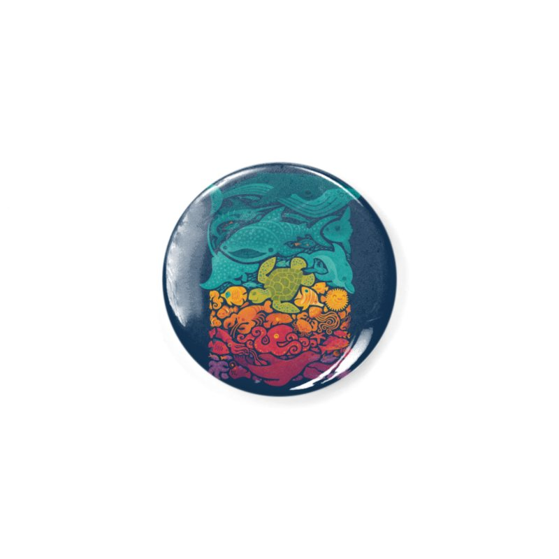 Aquatic Spectrum Accessories Button by Waynem