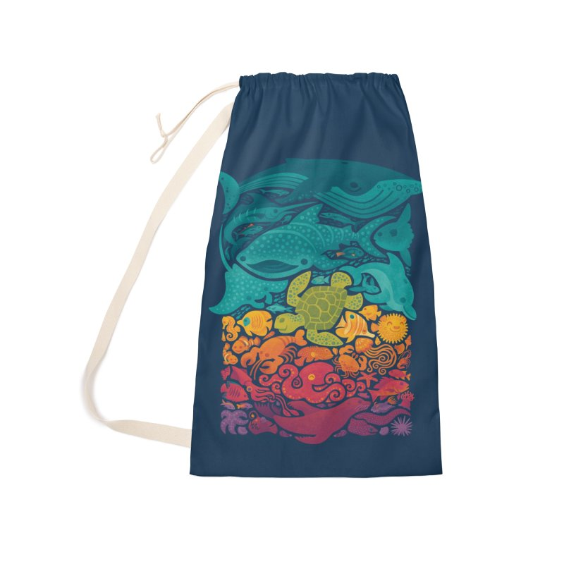 Aquatic Spectrum Accessories Laundry Bag Bag by Waynem