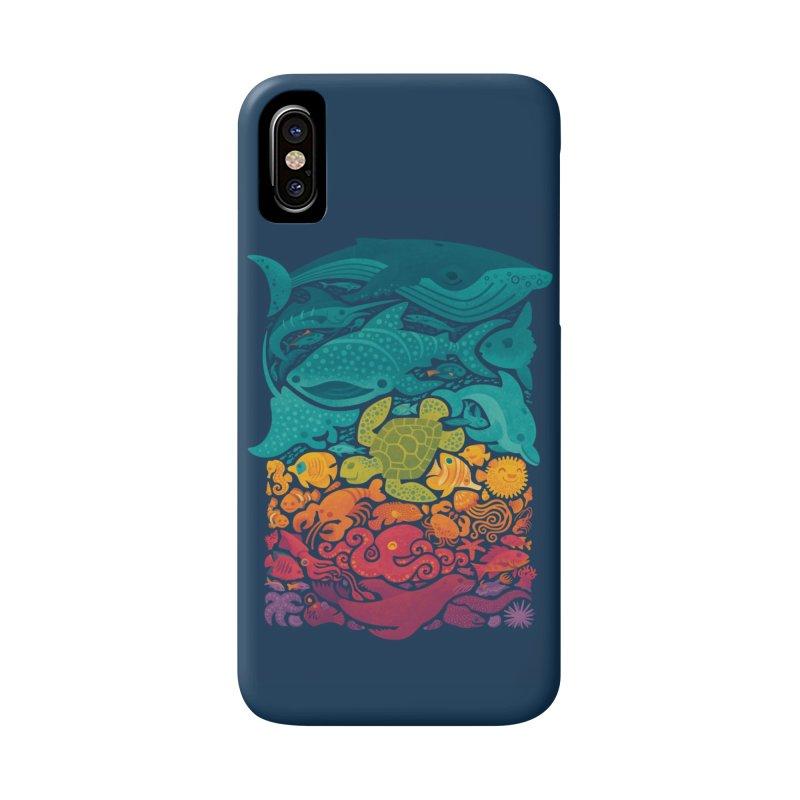 Aquatic Spectrum Accessories Phone Case by Waynem