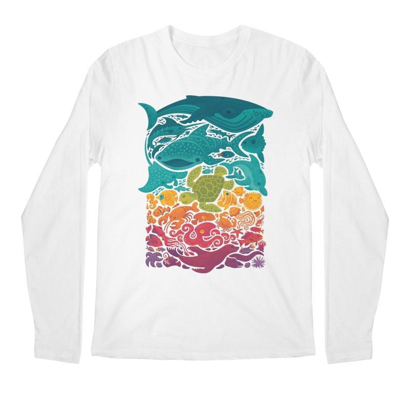 Aquatic Spectrum Men's Regular Longsleeve T-Shirt by Waynem