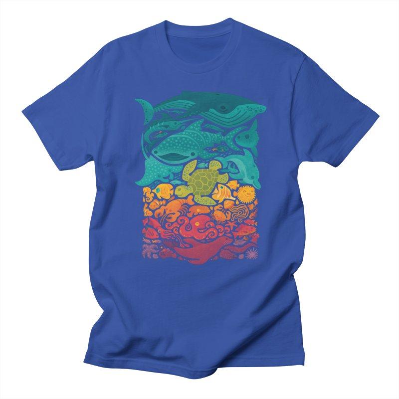 Aquatic Spectrum Women's Regular Unisex T-Shirt by Waynem