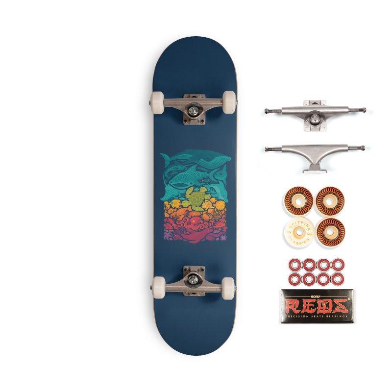 Aquatic Spectrum Accessories Skateboard by Waynem