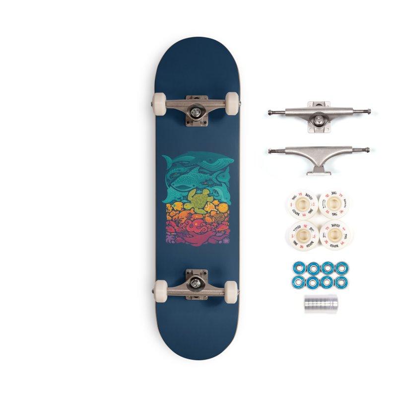 Aquatic Spectrum Accessories Complete - Premium Skateboard by Waynem