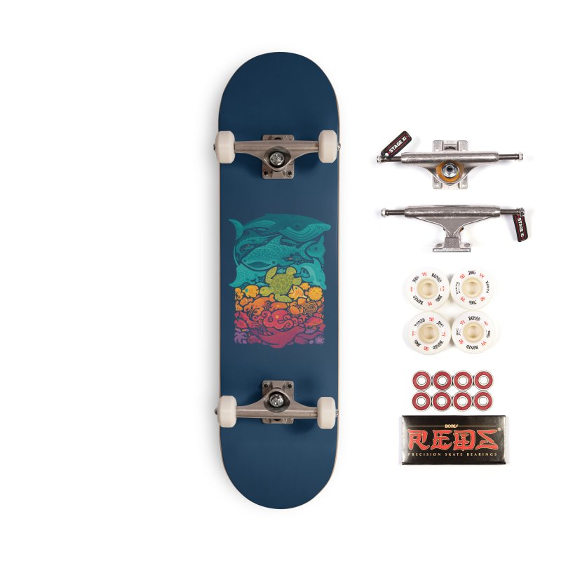 Aquatic Spectrum Accessories Complete - Pro Skateboard by Waynem