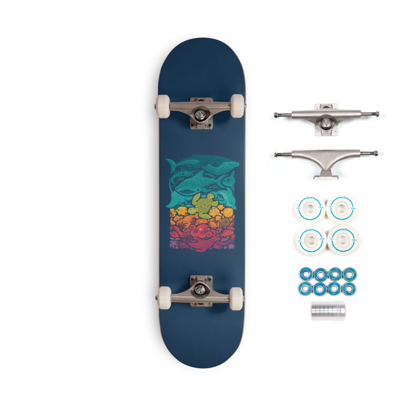 Aquatic Spectrum Accessories Complete - Basic Skateboard by Waynem