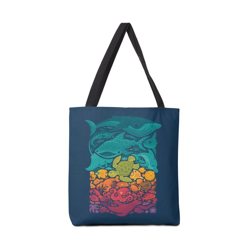 Aquatic Spectrum Accessories Tote Bag Bag by Waynem