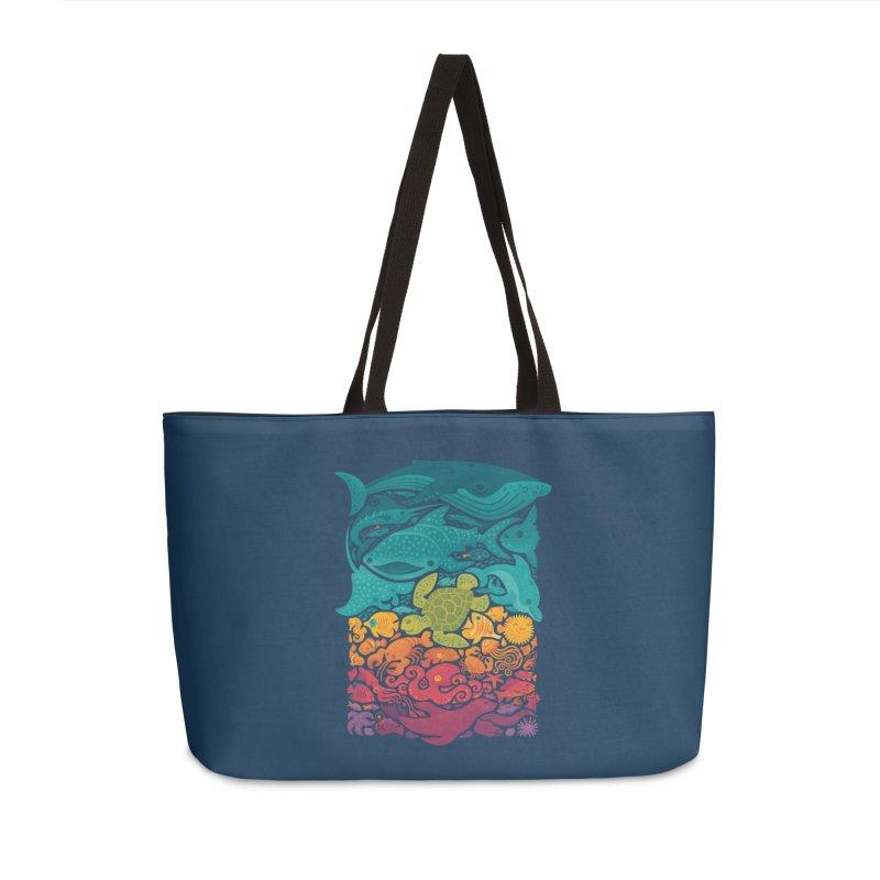 Aquatic Spectrum Accessories Weekender Bag Bag by Waynem
