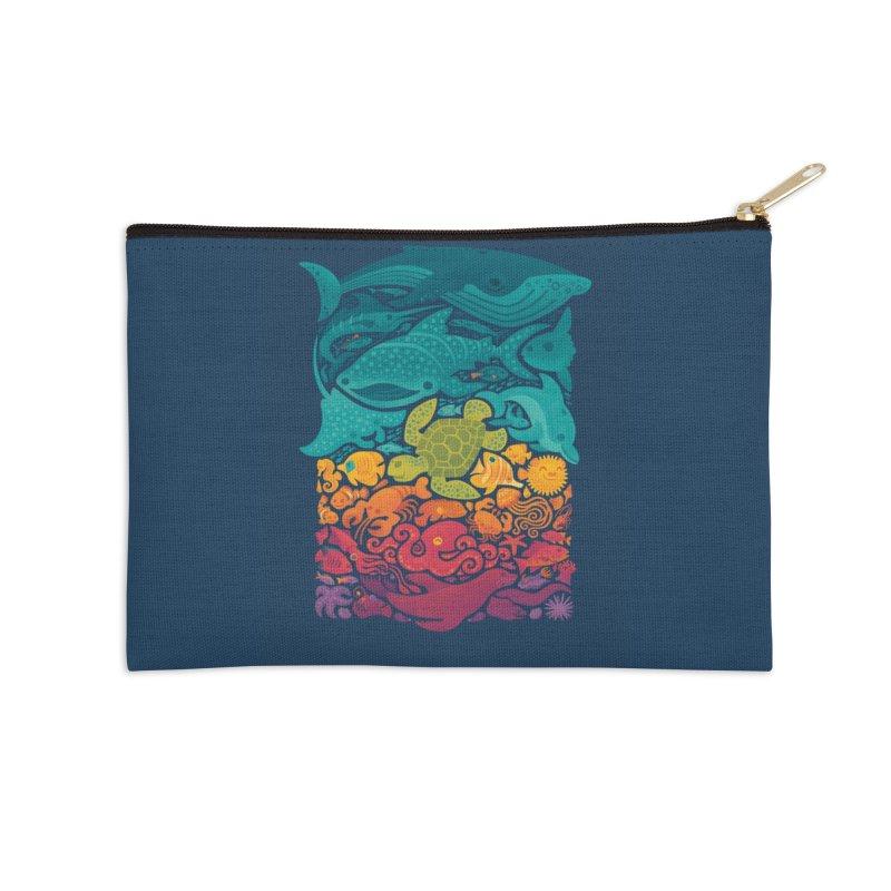 Aquatic Spectrum Accessories Zip Pouch by Waynem