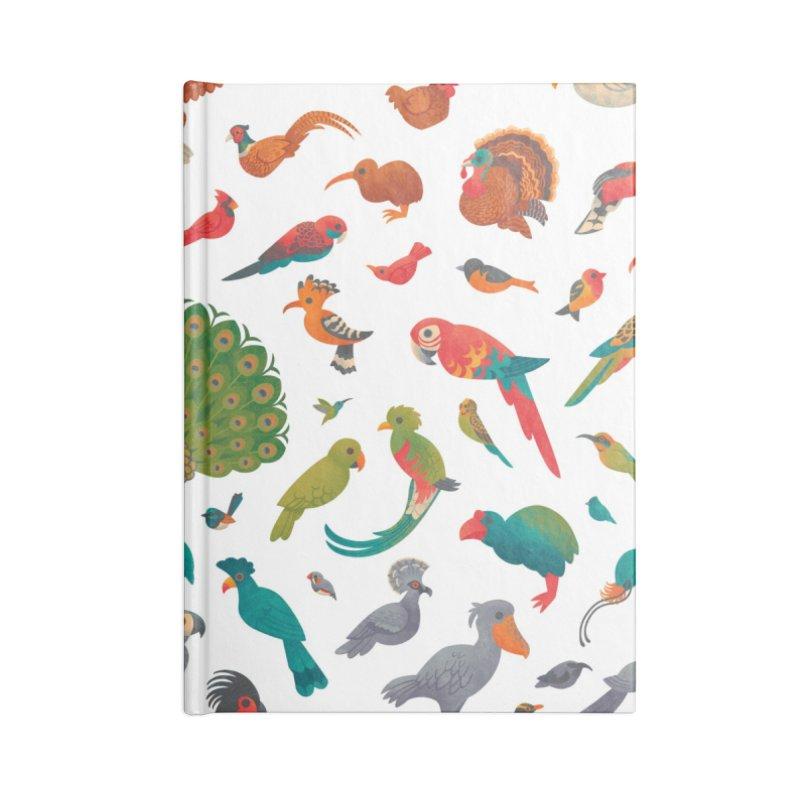 Aerial Spectrum : Pattern Accessories Lined Journal Notebook by Waynem