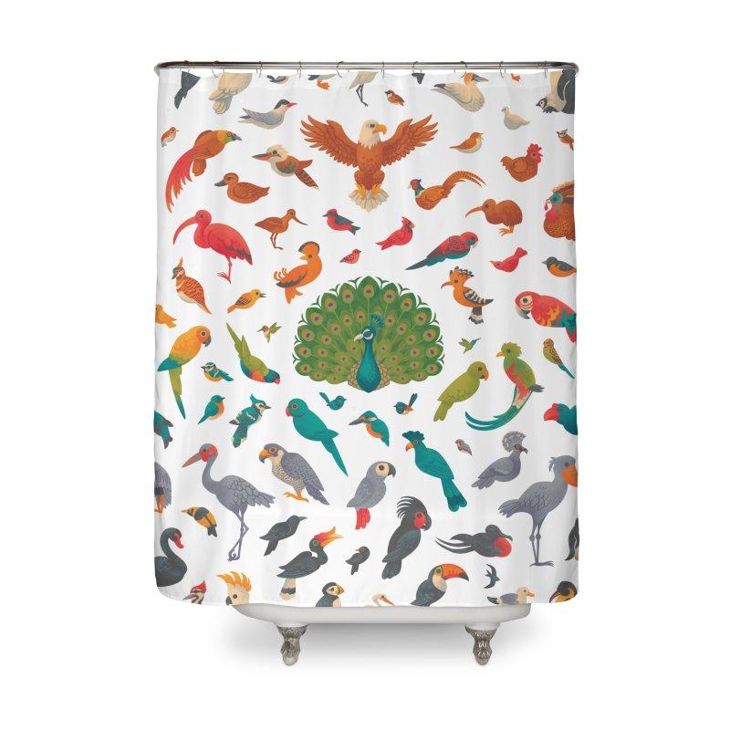 Aerial Spectrum : Pattern Home Shower Curtain by Waynem