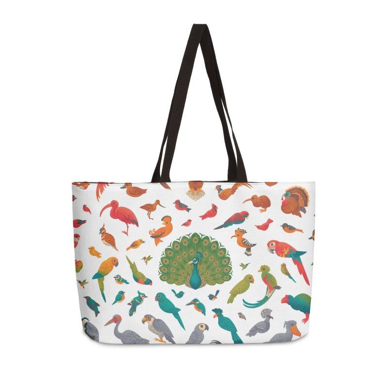 Aerial Spectrum : Pattern Accessories Weekender Bag Bag by Waynem